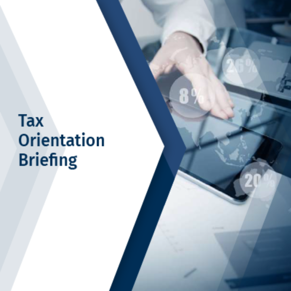 Tax Orientation Briefing
