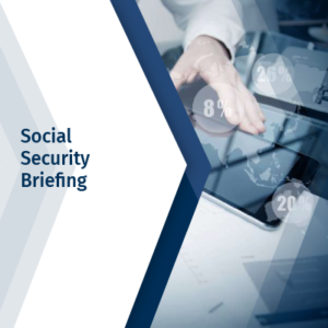 Social Security Briefing