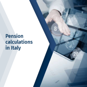 Calculation of Italian pension