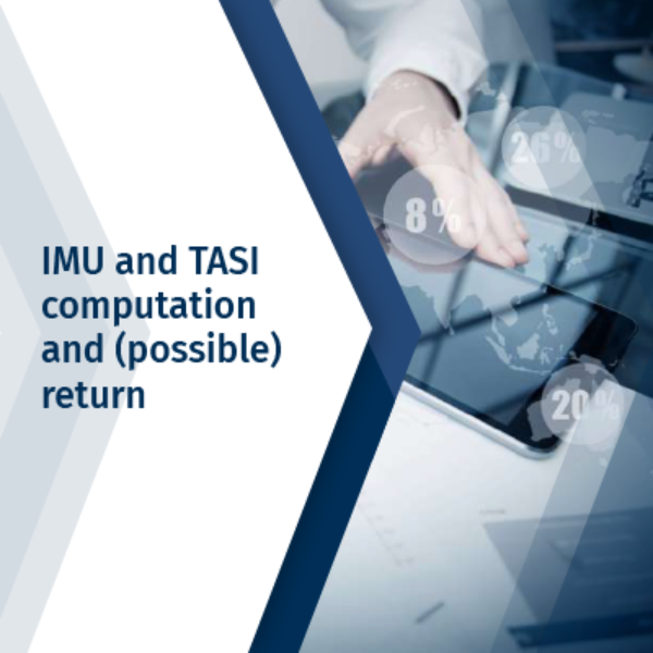 IMU and TASI computation and (possible) return