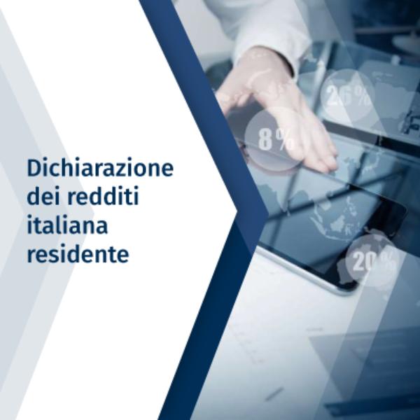 Dichiarazione dei redditi italiana – Residente