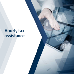 Hourly tax assistance
