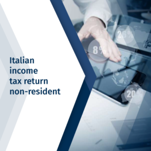 Italian income tax return non-resident